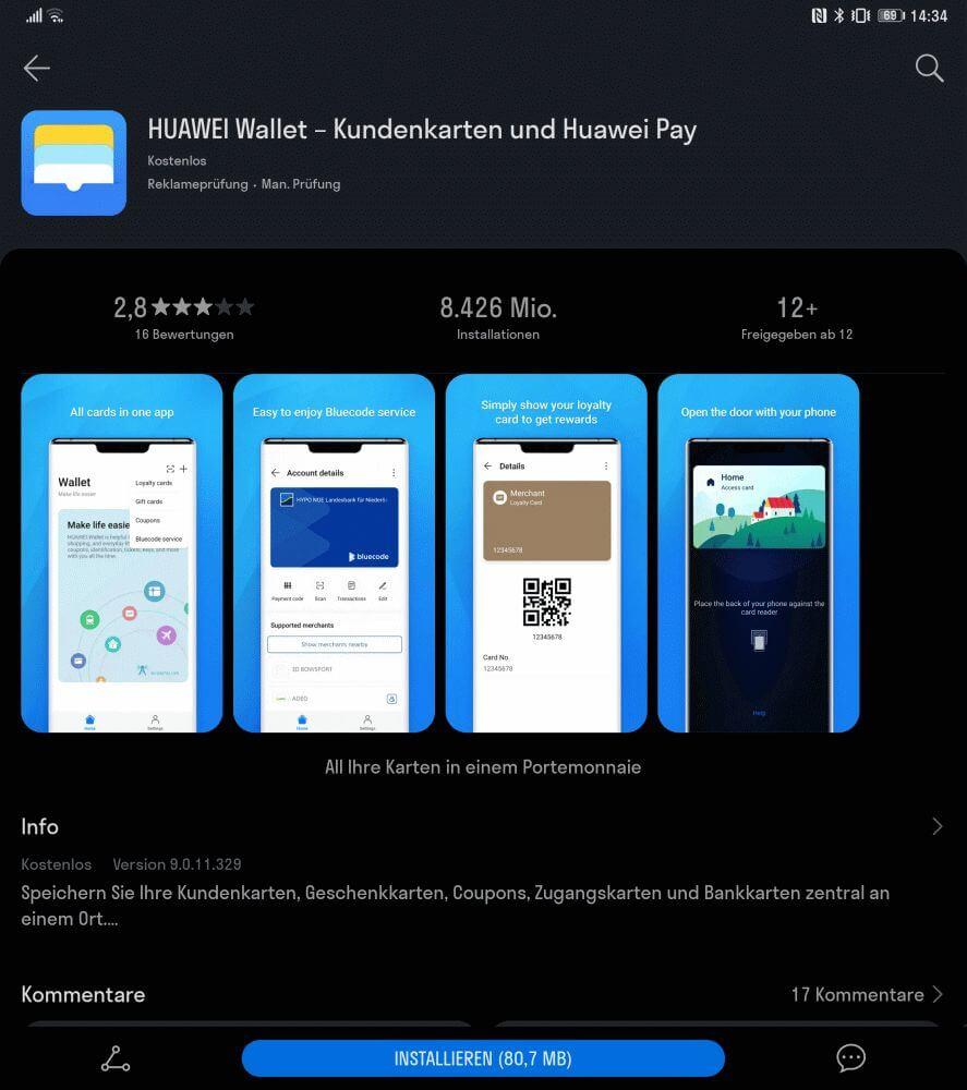 HUAWEI Pay startet (langsam) in Deutschland 1
