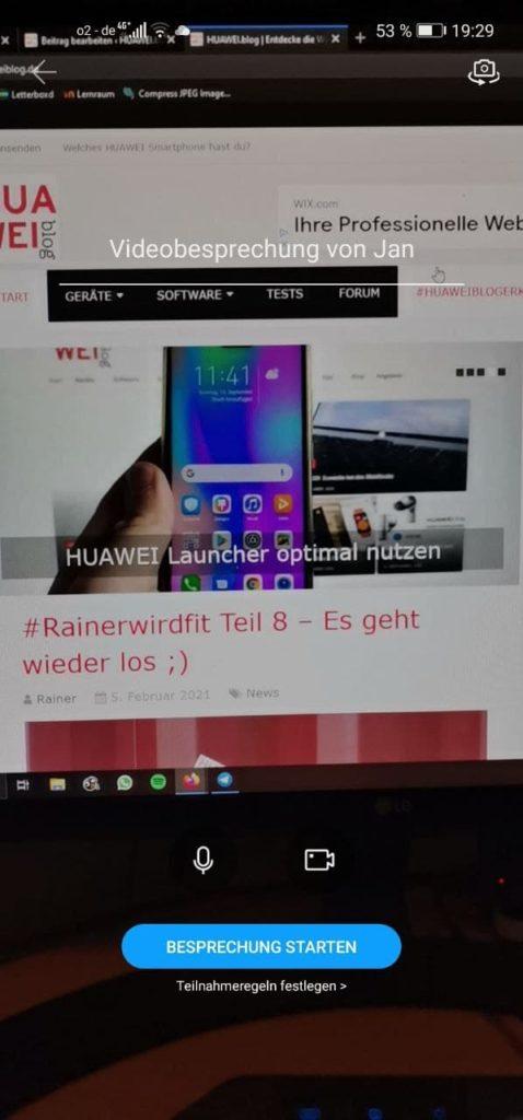 HUAWEI Link Now - Ersatz für WhatsApp? 4