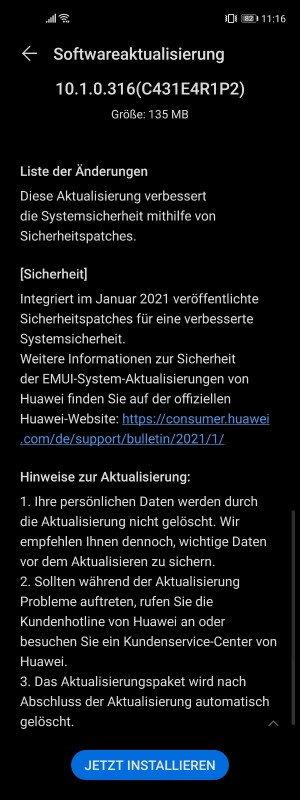 Januarpatch 2021
