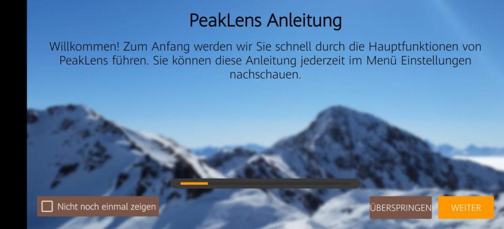 Was ist das für ein Berg? PeakLens verrät es dir! 3