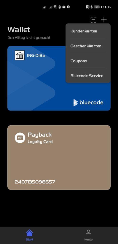 Huawei Pay Bluecode
