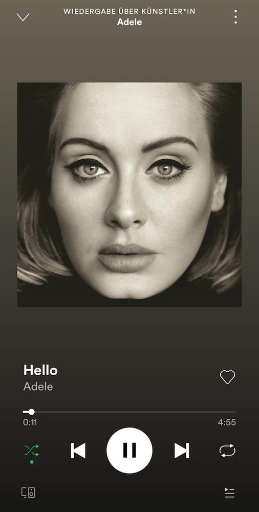 HUAWEI FreeBuds 4i Test - Sound - Spotify - Adele