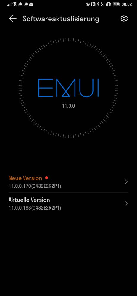 HUAWEI Mate Xs Firmware Update 11.0.0.170