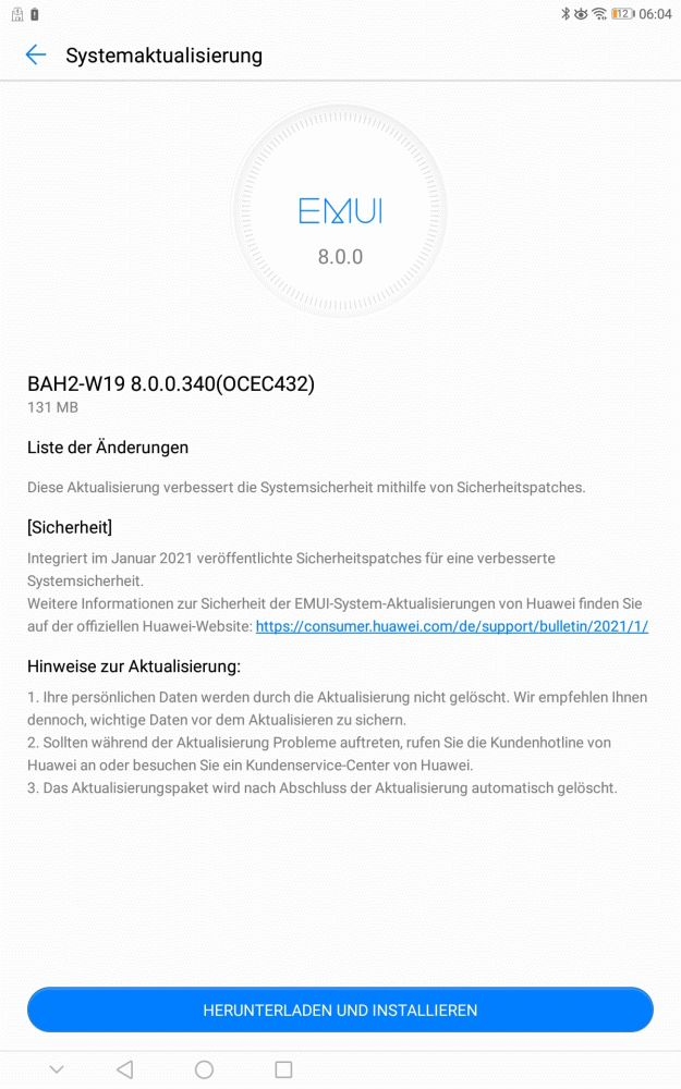 HUAWEI MediaPad M5 Lite - Der Update-Garant 2