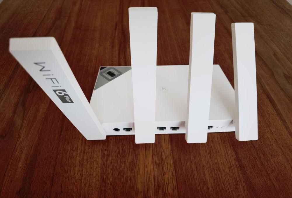 HUAWEI WiFi AX3 Test Anschlüsse