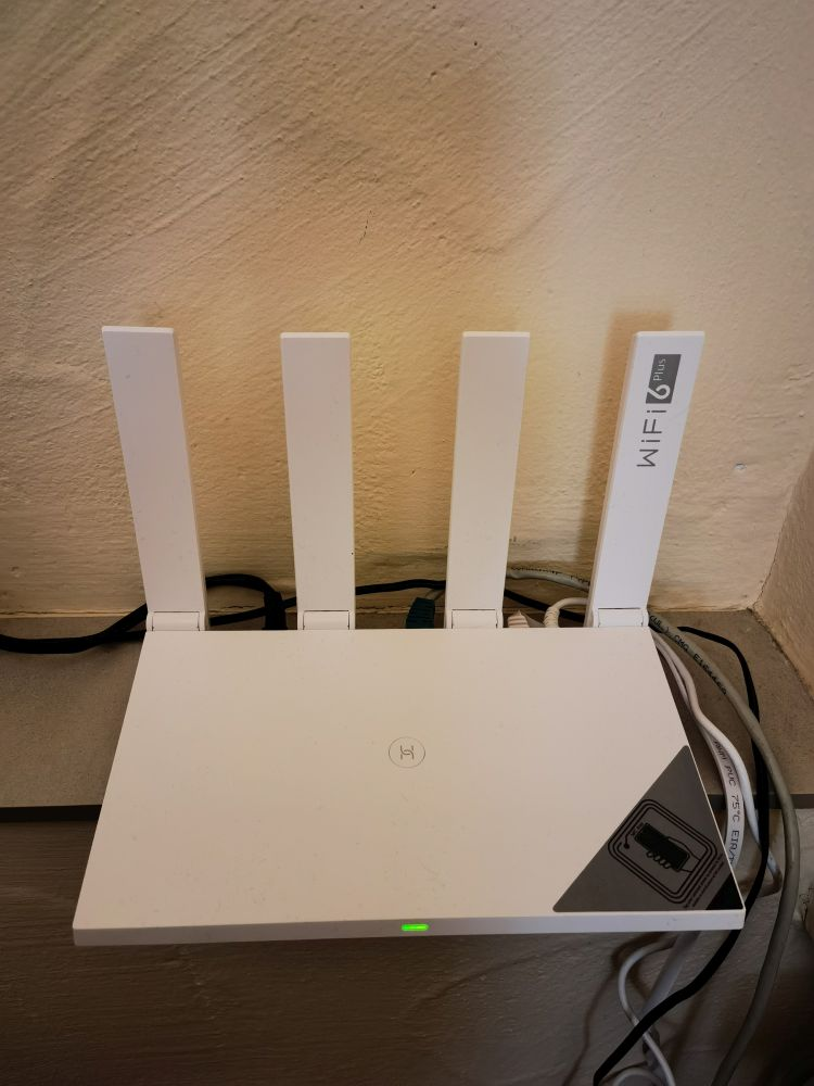 HUAWEI WiFi AX3 Test Aufstellung