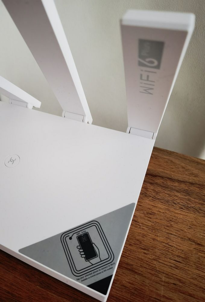 HUAWEI WiFi AX3 Test NFC