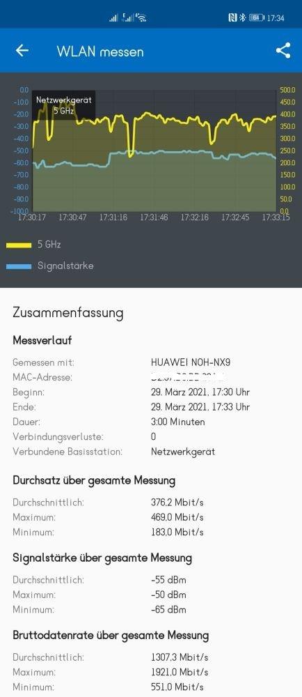 HUAWEI WiFi AX3 Vergleich Q2 Pro Büro