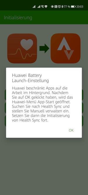 #Rainerwirdfit - Teil 10 - Health Sync 6