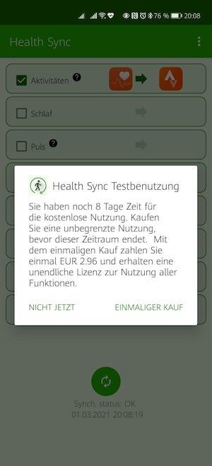 #Rainerwirdfit - Teil 10 - Health Sync 12