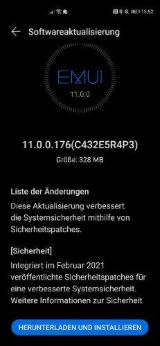 Huawei P40 Pro Firmwareupdate - Übersicht 13