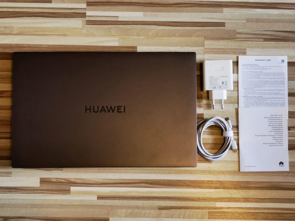 HUAWEI MateBook D16 Test Unboxing