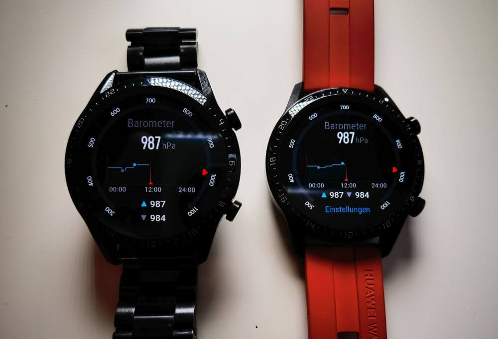 HUAWEI Watch GT 2 Update Barometer