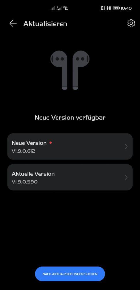 HUAWEI Freebuds 3 Update 1.9.0.612
