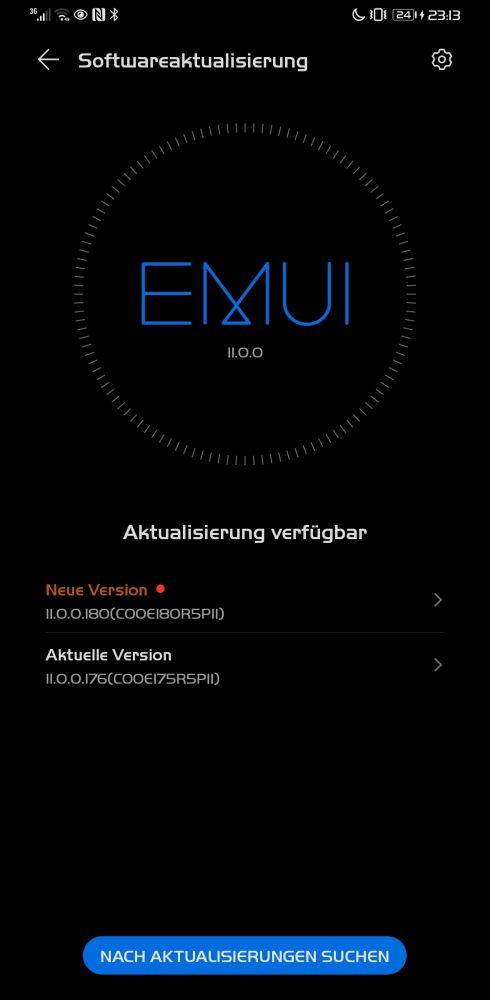 HUAWEI Mate 30 Pro Firmwareupdate Sicherheitspatch April 2021