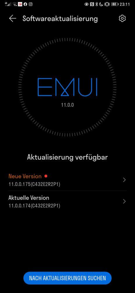 HUAWEI Mate Xs Firmwareupdate Sicherheitspatch April 2021