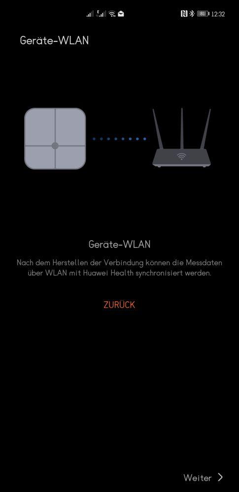 HUAWEI Scale 3 Test WLAN
