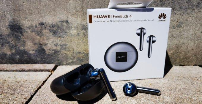 HUAWEI Freebuds 4 setzen erfolgreiche Audio Reihe fort