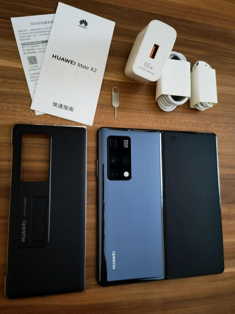 HUAWEI Mate X2 Test Unboxing