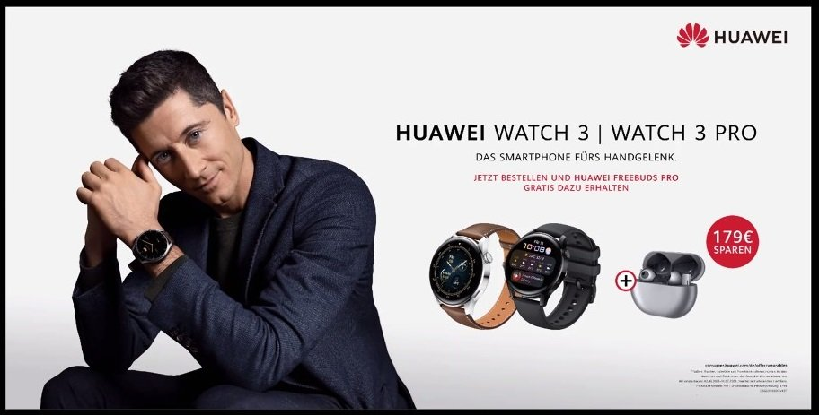 Huawei Watch 3 Vorbesteller Angebot