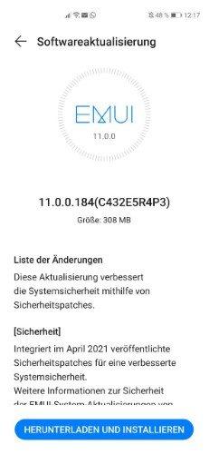Huawei P40 Pro Firmwareupdate - Übersicht 7