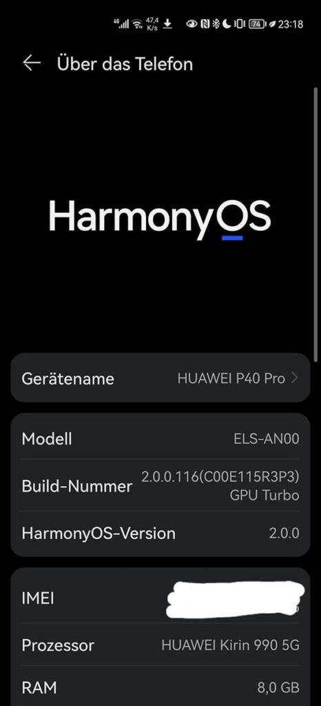 HarmonyOS 2 - Fragen und Antworten 1