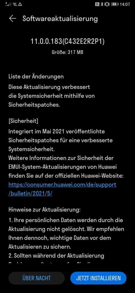 HUAWEI Mate Xs Firmwareupdate - Junipatch kommt 4
