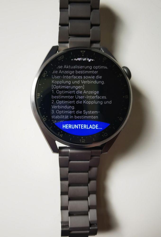 HUAWEI Watch 3 (Pro) Firmware Übersicht 2