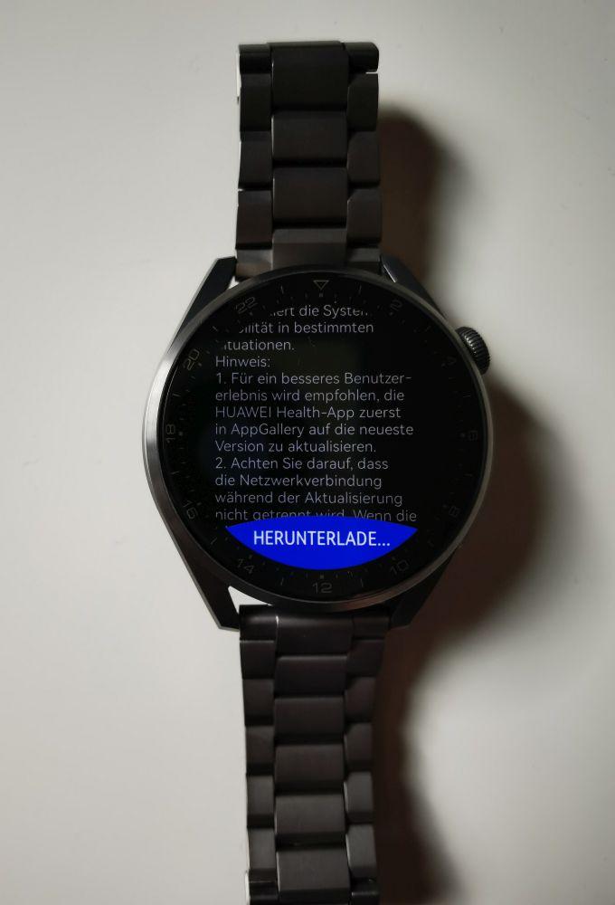 HUAWEI Watch 3 (Pro) Firmware Übersicht 3
