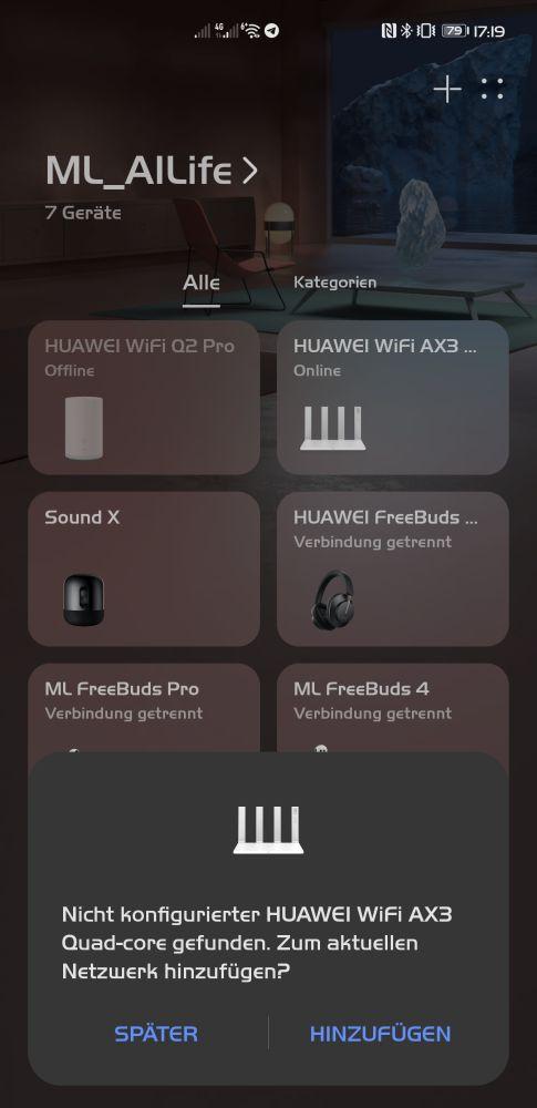 HUAWEI WiFi AX3 Test - WiFi 6+ im (Familien-)Alltag 3