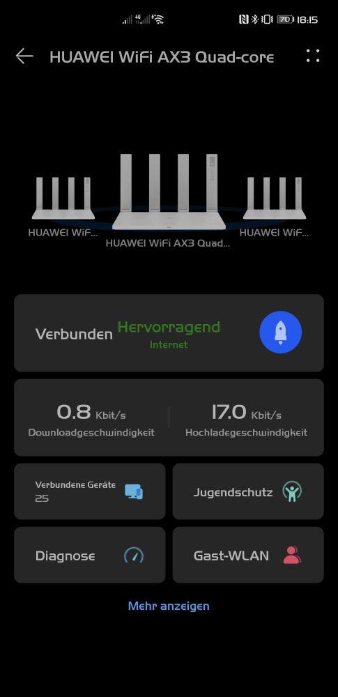 HUAWEI WiFi AX3 Test - WiFi 6+ im (Familien-)Alltag 5
