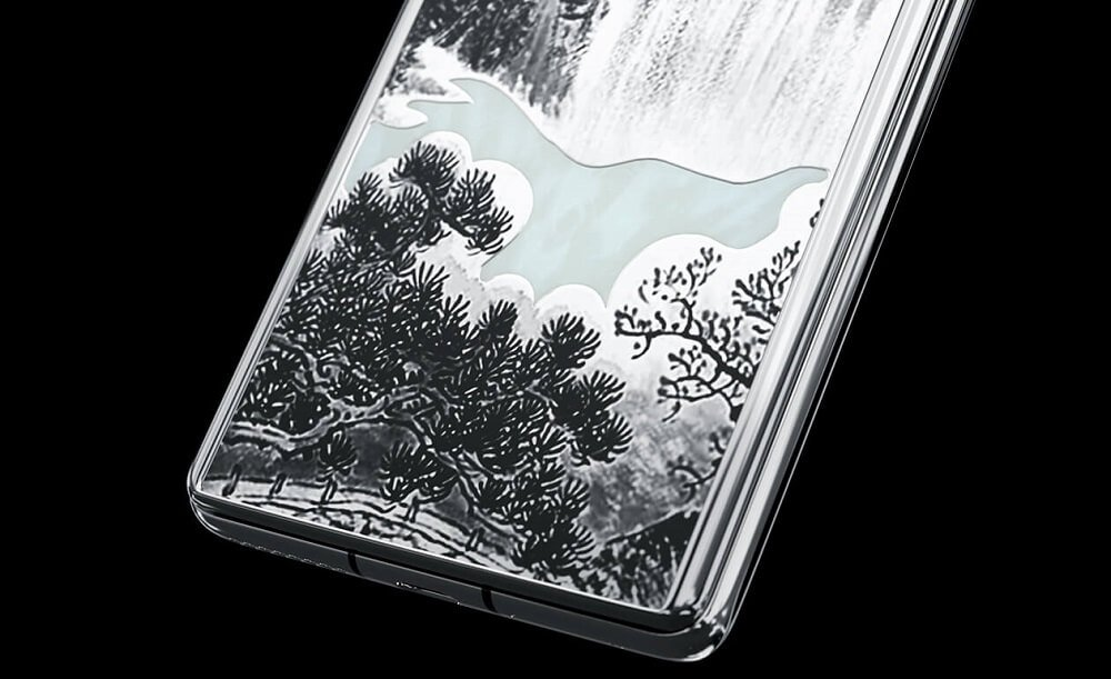 Huawei Mate 40 Pro Jade Empire Caviar Gohua