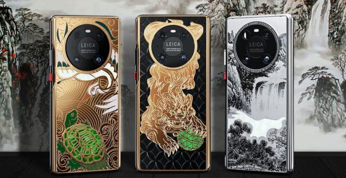 Huawei Mate 40 Pro Jade Empire Caviar Header