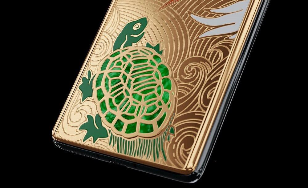 Huawei Mate 40 Pro Jade Empire Caviar Precious Harmony