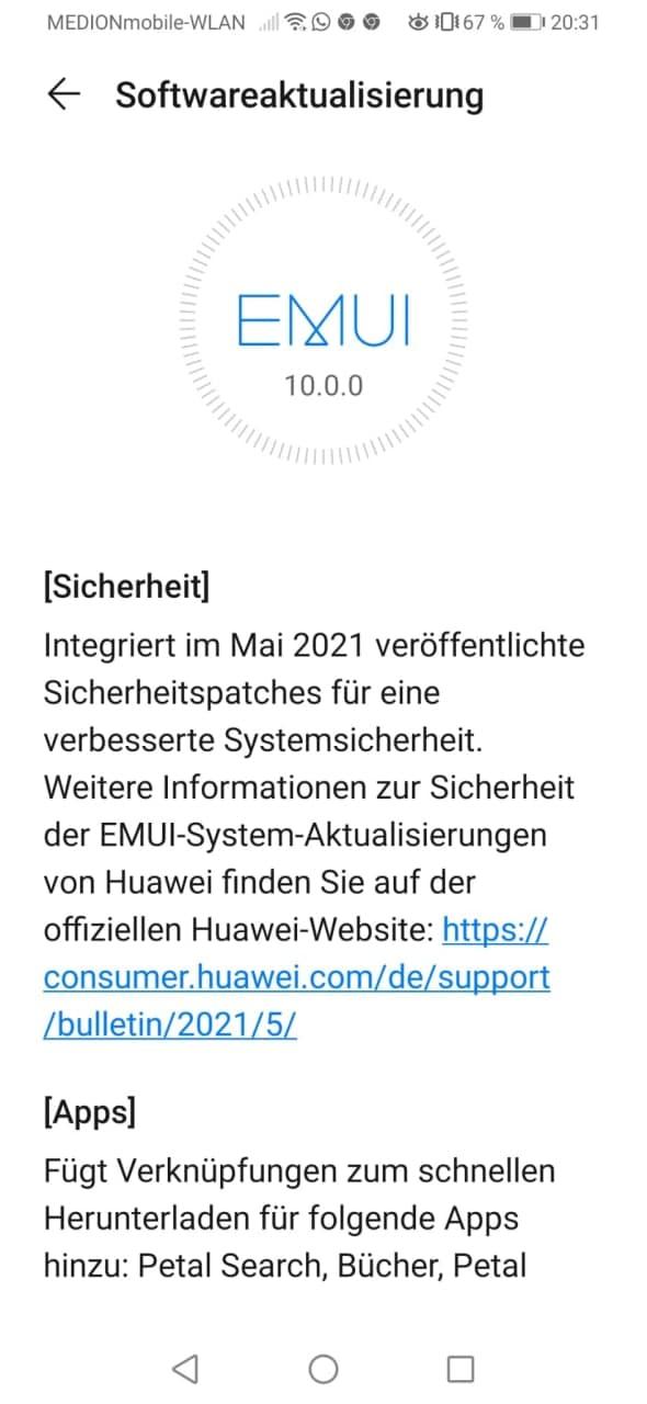 Sicherheitspatch Mai 2021