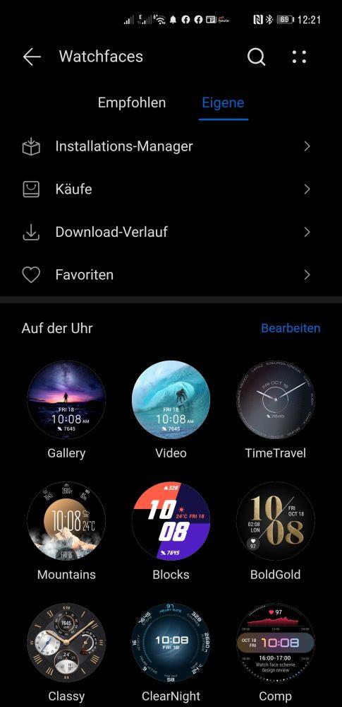 HUAWEI Watch 3 Pro Firmware Update Video Watchface