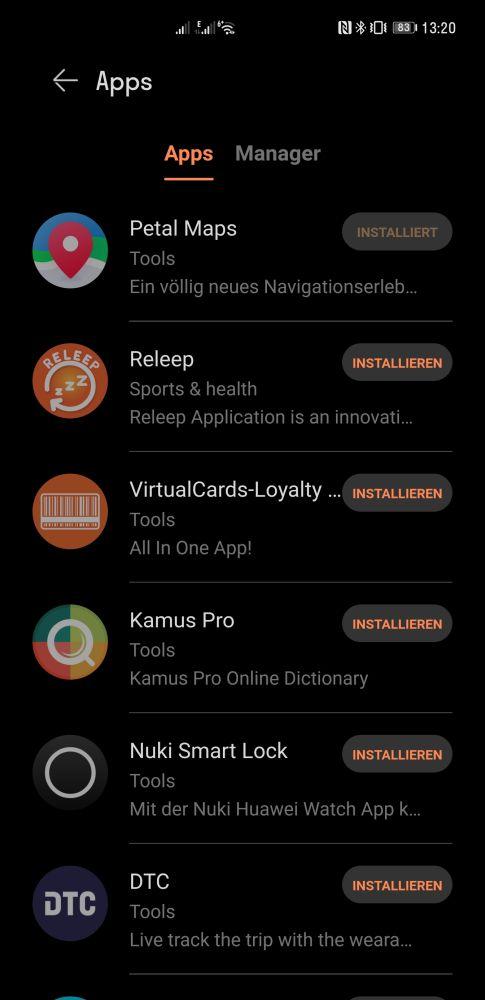 HUAWEI Watch 3 Pro Test Apps