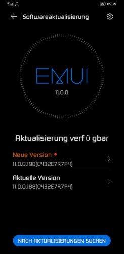 Mate 30 Pro 11.0.0.190 Notify