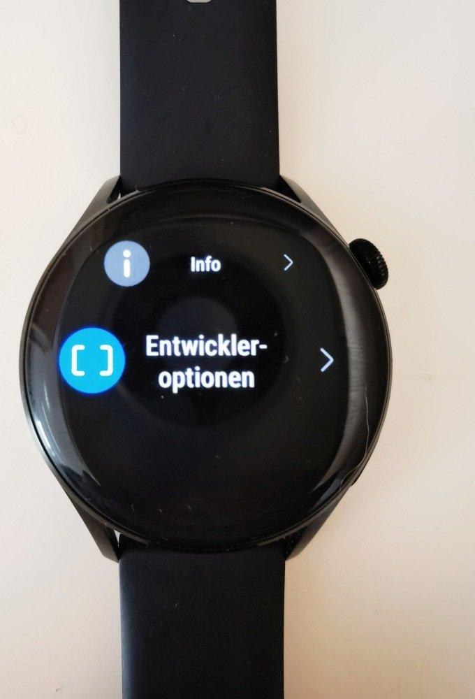 HUAWEI Watch 3 Apps installieren Entwickleroptionen