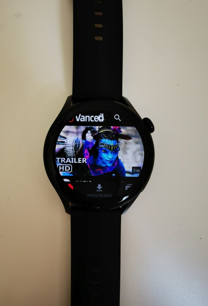 HUAWEI Watch 3 Apps installieren YouTube Vanced