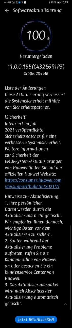 Sicherheitspatch Juli 2021