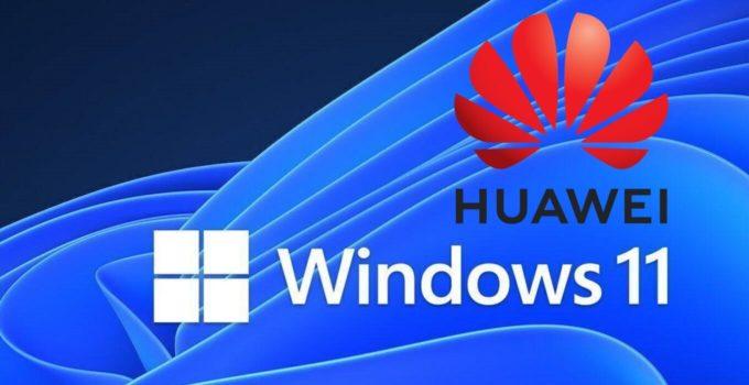 Welche HUAWEI MateBook Windows 11 erhalten