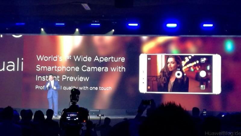 Huawei P9 - Präsentation - London - Camera