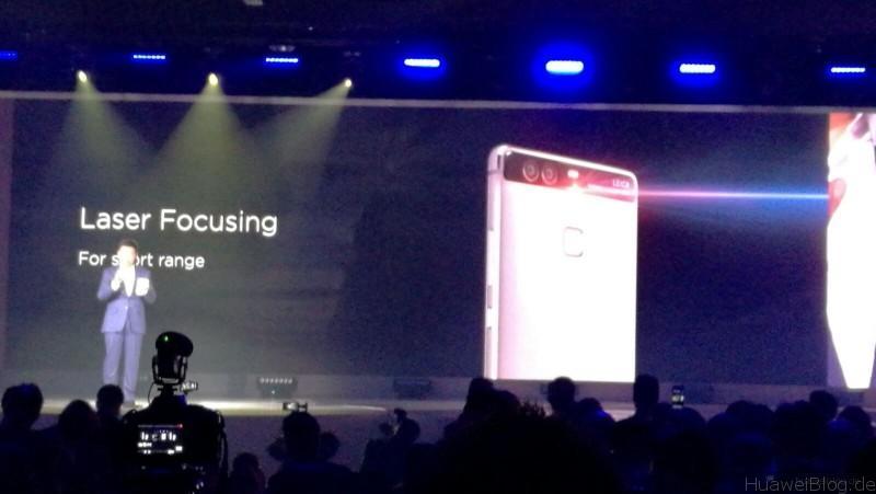 Huawei P9 Plus - Laser Focusing