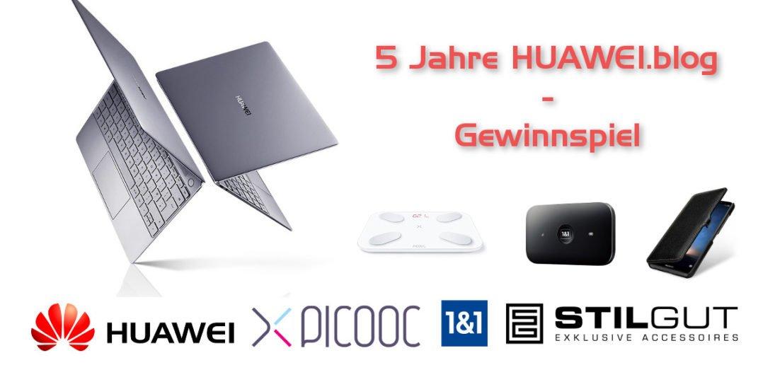 5 Jahre Huaweiblog Gewinnspiel Matebook X