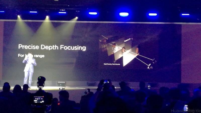 Huawei P9 Plus - Präzise Tiefenschärfe
