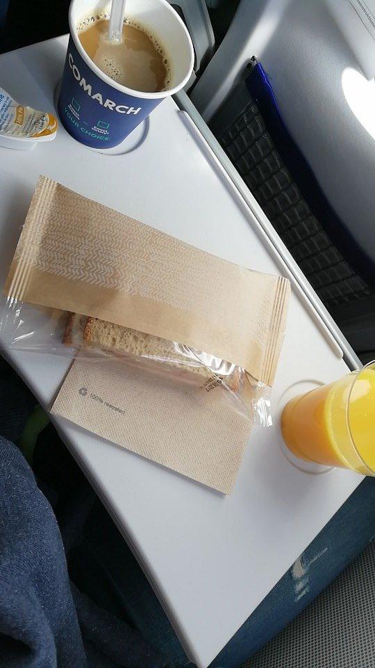 Frühstück Lufthansa