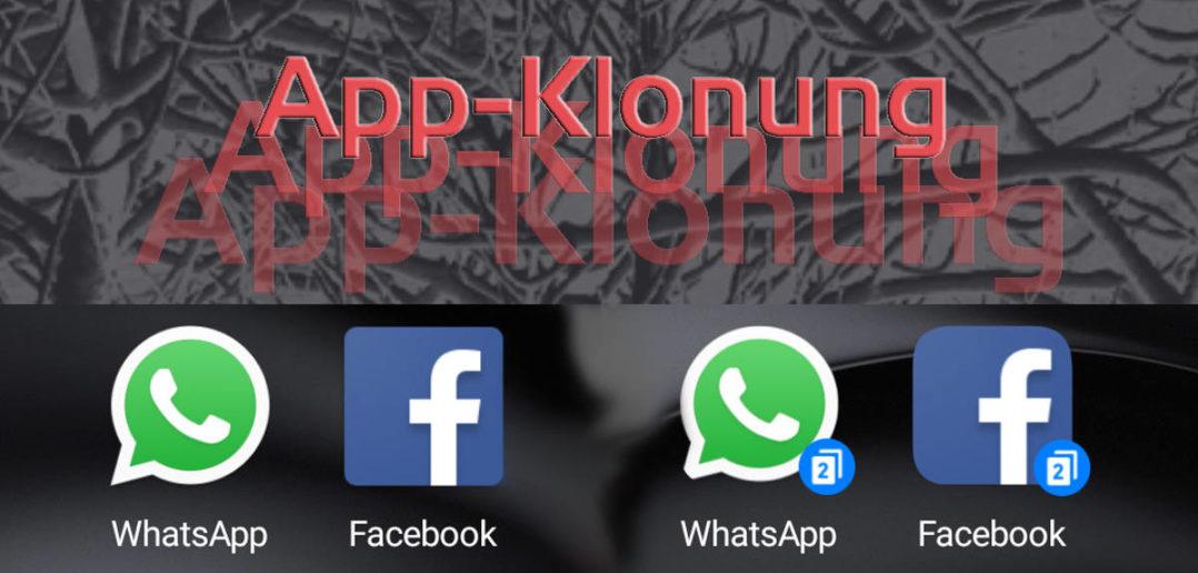 App-Klonung