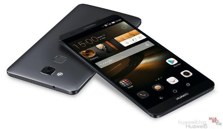 Huawei Mate Ascent in Obsidian Black