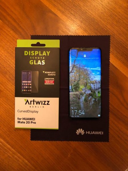 Huawei Mate 20 Pro - Display Glas von Artwizz im Test 8